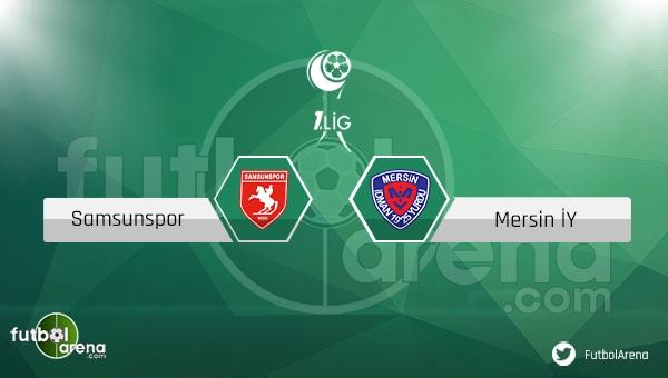 Samsunspor - Mersin İdmanyurdu maçı ne zaman, saat kaçta? (Samsun Mersin canlı izle)