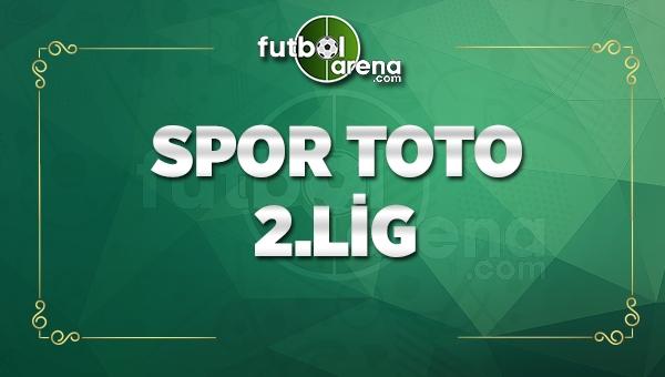 Spor Toto 2. Lig sonuçları - Spor Toto 2. Lig Beyaz ve Kırmızı Grup maç sonuçları