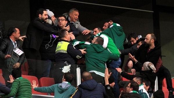 Konyaspor - Antalyaspor maçında çıkan olaylara karışanlar belirlendi