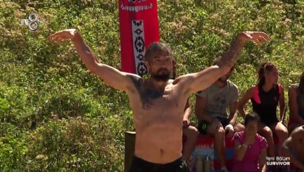 Survivor 2017 İlhan Mansız şov! Beşiktaş'a Kartal mesajı verdi