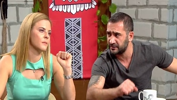 Survivor Fulya Şahin Ümit Karan ile kapışması sonrası canlı yayında ağladı