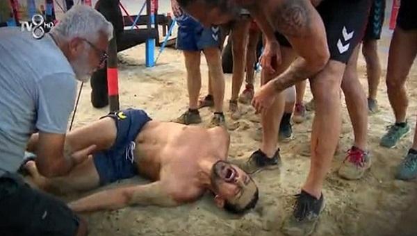 Survivor'da Serhat Akın acılar içinde yer kaldı! İşte sakatlığı ve oynamayacağı yarışmalar...