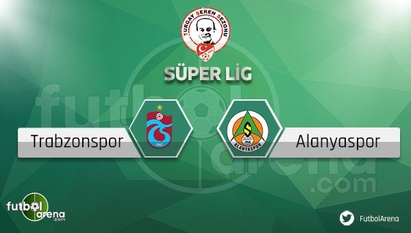 Trabzonspor - Alanyaspor maçı saat kaçta, hangi kanalda? (Trabzon Alanya maçı ne zaman?)
