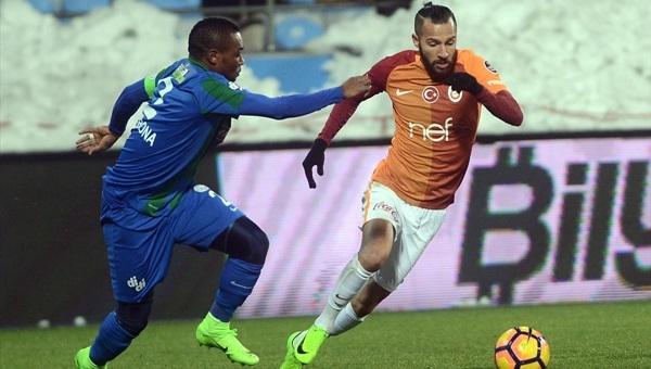 Çaykur Rizespor - Galatasaray maçı koşu mesafeleri