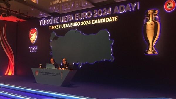 Türkiye, 2024 Avrupa Şampiyonası'na aday