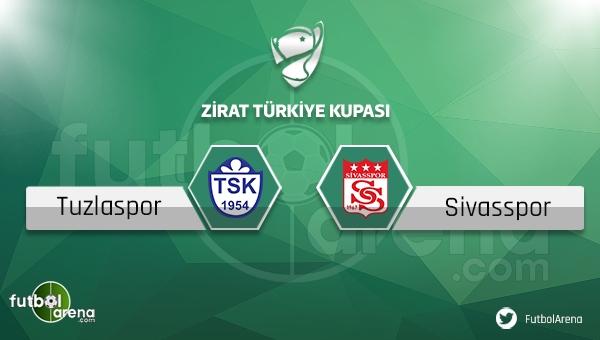 Tuzlaspor - Sivasspor Türkiye Kupası maçı saat kaçta, hangi kanalda?