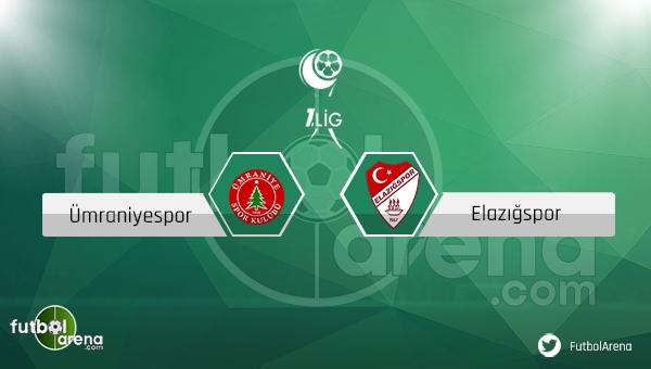 Ümraniyespor - Elazığspor maçı ne zaman, saat kaçta? (Ümraniye Elazığ maçı)