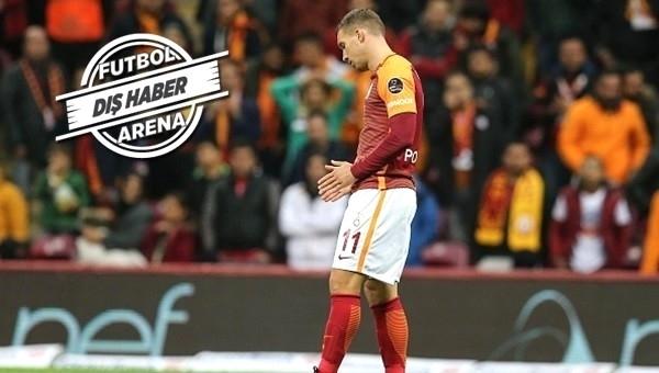 Galatasaray'da Podolski transferiyle ilgili Vissel Kobe'den sıcak açıklama