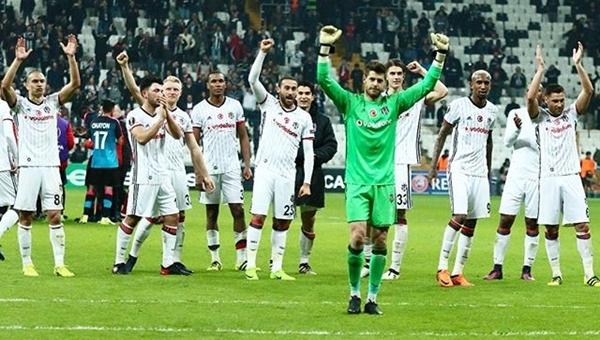 Vodafone Arena'daki Hapoel Beer Sheva maçı Beşiktaş tarihine geçti