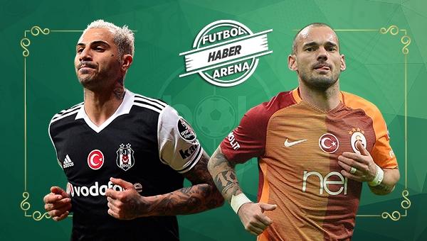 Wesley Sneijder ve Ricardo Quaresma Avrupa'nın zirvesinde