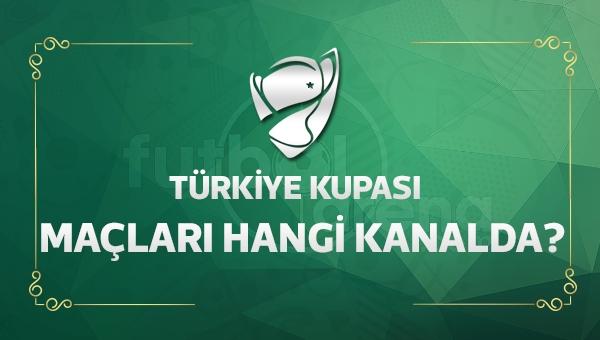 Ziraat Türkiye Kupası son 16 turu maçları hangi kanalda?
