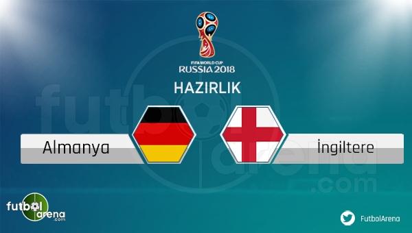 Almanya - İngiltere maçı saat kaçta, hangi kanalda? (Almanya İngiltere nasıl izlerim?)