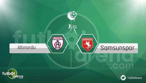 Altınordu - Samsunspor maçı saat kaçta, hangi kanalda?