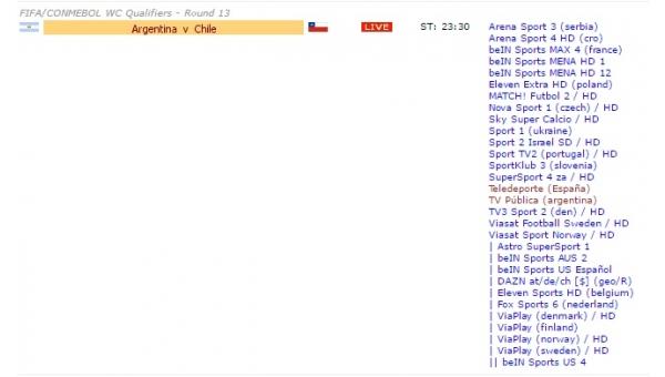 Arjantin - Şili maçı saat kaçta, hangi kanalda? (Arjantin Şili canlı izle)
