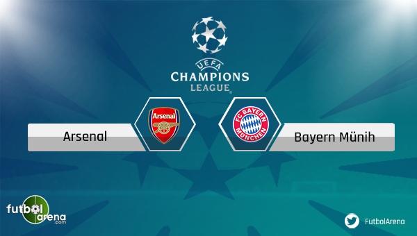 Arsenal - Bayern Münih maçı saat kaçta, hangi kanalda?