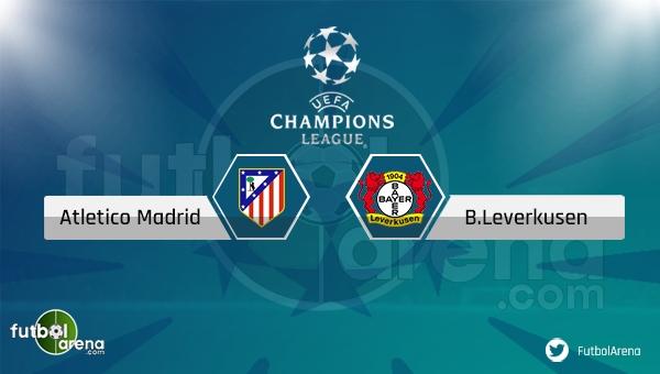 Atletico Madrid - Bayer Leverkusen maçı saat kaçta, hangi kanalda? (Atletico Madrid Leverkusen şifresiz canlı izle)