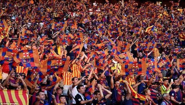 Barcelona taraftarı inanıyor!