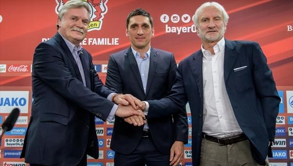 Bayer Leverkusen ile anlaşan Tayfun Korkut'un ilk sözleri