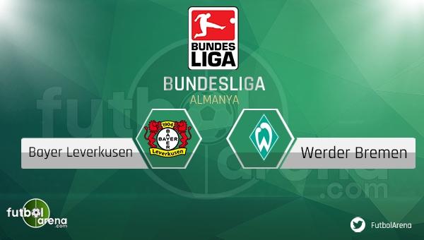 Bayer Leverkusen - Werder Bremen maçı saat kaçta, hangi kanalda? (Bayer Leverkusen Werder Bremen maçı şifresiz canlı nasıl izlenir?)