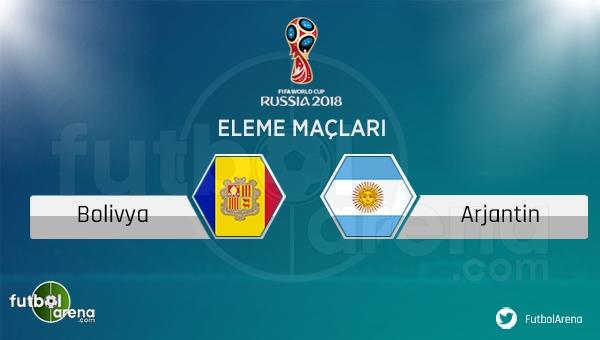 Bolivya Arjantin maçı saat kaçta hangi kanalda? (Bolivya Arjantin canlı şifresiz mi?)