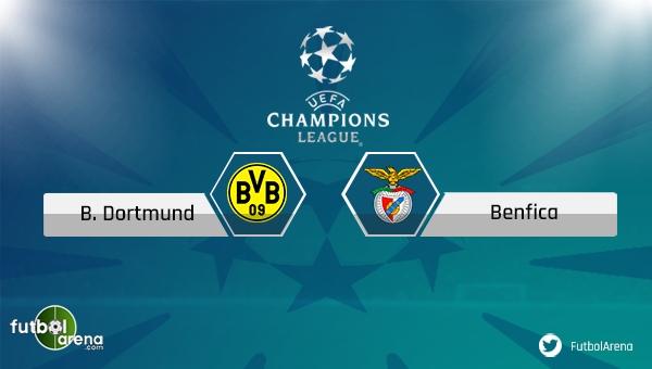 Borussia Dortmund - Benfica maçı saat kaçta, hangi kanalda?