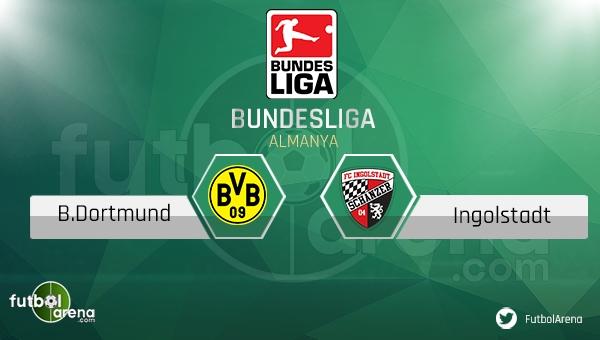 Borussia Dortmund - Ingolstadt maçı saat kaçta, hangi kanalda? (Dortmund Ingolstadt şifresiz canlı nasıl izlerim)