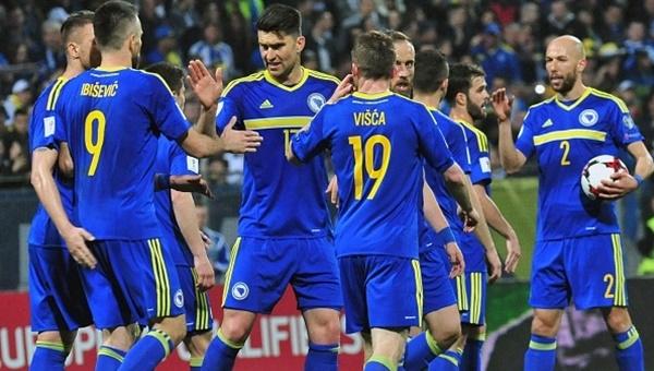 Bosna Hersek 5-0 Cebelitarık maçı özeti ve golleri (Visca ve Vrsajevic'in gollerini izle)