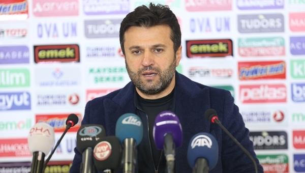 Bülent Uygun'dan Kayserispor zaferi sonrası iddialı sözler