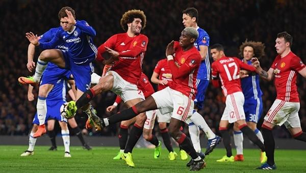 Chelsea 1-0 Manchester United FA Cup maç özeti ve golleri