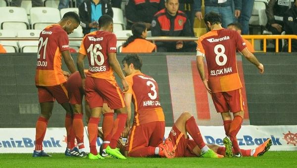 Eren Derdiyok'un golü Galatasaray'a sezon rekorunu getirdi