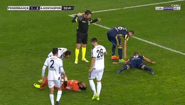 Fenerbahçe'de Fernandao şoku! Hastaneye kaldırıldı