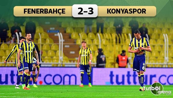Fenerbahçe'ye Konyaspor darbesi!