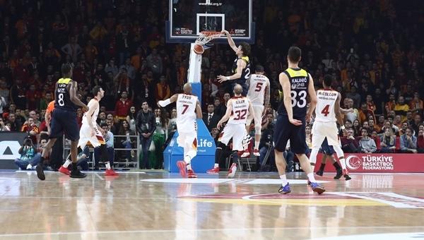 Galatasaray Odeabank - Fenerbahçe maç özeti