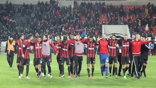 Gaziantepspor'un 413 günlük galibiyet hasreti