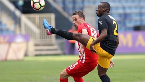 Hamza Hamzaoğlu, Osmanlıspor ile ilk maçına çıktı