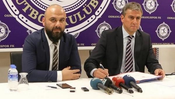 Hamza Hamzaoğlu resmi imzayı attı - Osmanlıspor Haberleri