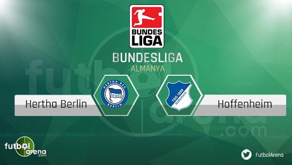 Hertha Berlin - Hoffenheim maçı saat kaçta, hangi kanalda? (Hertha Berlin Hoffenheim maçı şifresiz canlı izle)