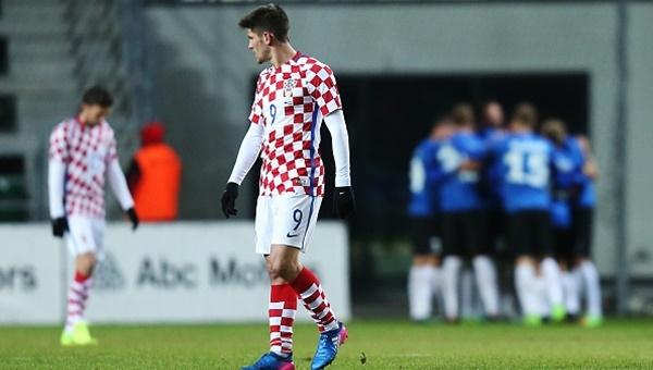 Hırvatistan'da ağır yenilgi! Beşiktaşlı Mitrovic'ten büyük hatalar (İZLE)