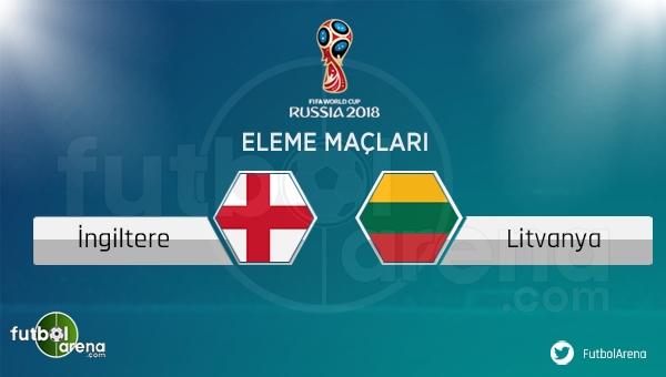 İngiltere - Litvanya maçı saat kaçta, hangi kanalda? İngiltere - Litvanya canlı izle)