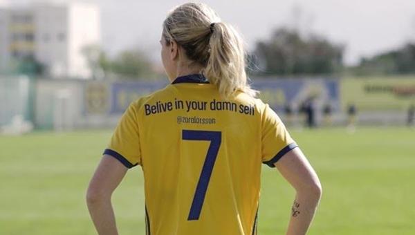 İsveç Kadın Milli Futbol Takımı'ndan erkek egemenliğine tepki