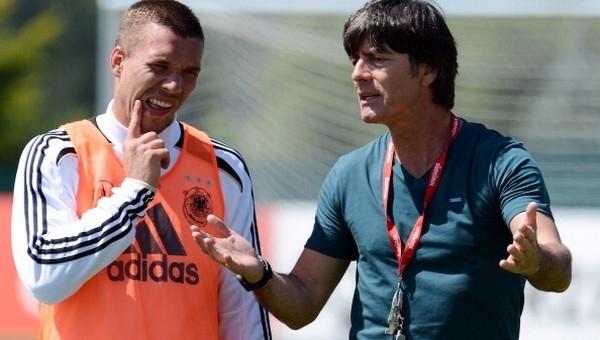 Joachim Löw'den Lukas Podolski açıklaması