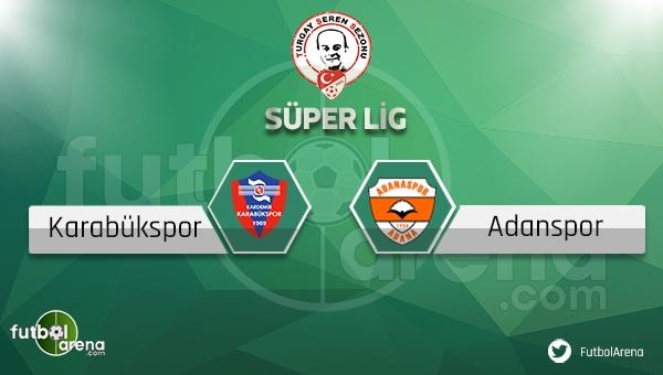 Karabükspor Adanaspor şifresiz canlı izle - Bein Sports Karabükspor Adanasporcanlı skor