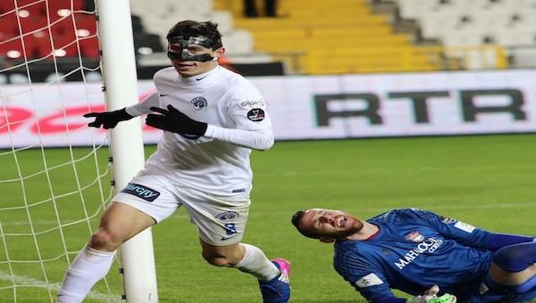 Kasımpaşa on saniyede golü buldu