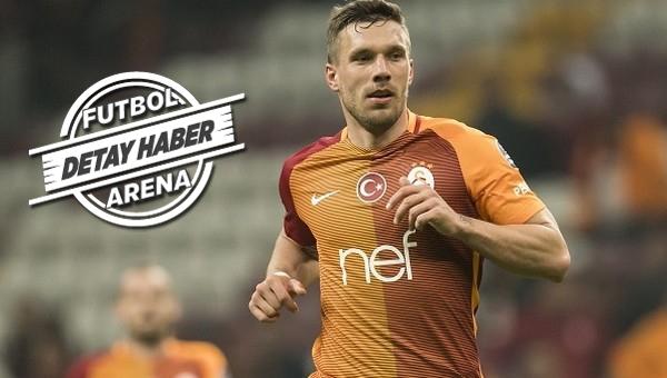 Lukas Podolski transferinde ilginç detay