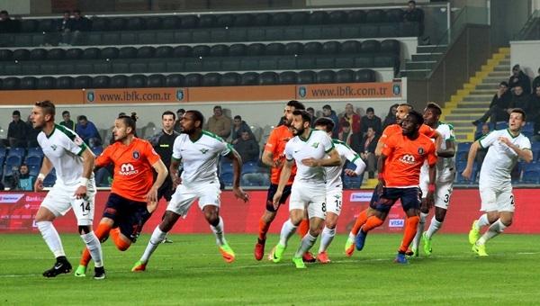 Medipol Başakşehir 1 - 1 Akhisar Belediyespor maçı özeti ve golleri
