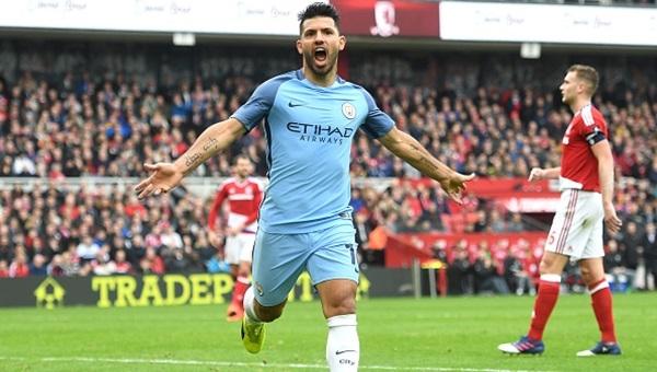 Middlesbrough 0-2 Manchester City maçı özeti ve golleri
