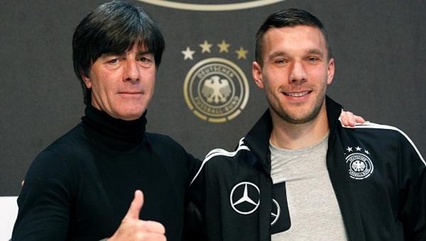 Podolski'den Milli Takım açıklaması: 'Duygusal olacak'