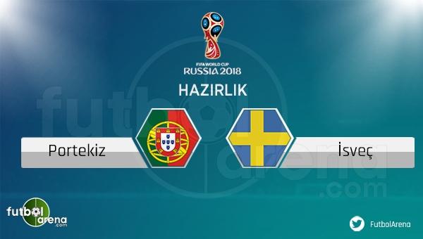 Portekiz İsveç hazırlık maçı saat kaçta hangi kanalda? (Portekiz İsveç canlı şifresiz mi?)