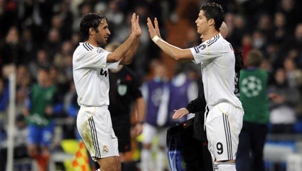 Raul'dan Cristiano Ronaldo'ya sert eleştiri