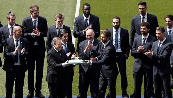 Real Madrid'e yeni sponsor